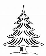 Tree Coloring Christmas Wallpapers9 sketch template