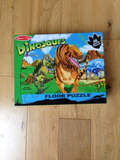 And Doug Dinosaur Floor Puzzles by Doug Dinosaurs Floor Puzzle For Sale In Lusk