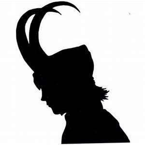 Loki Silhouette - ClipArt Best