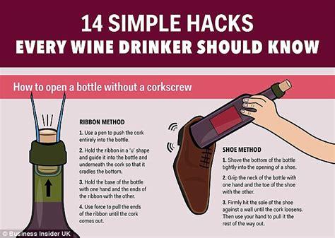 Remove The Cork With A Ribbon Alternative