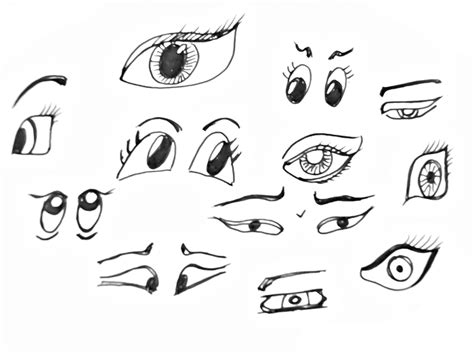 draw cartoon eyes easy ingrid celeste drawing