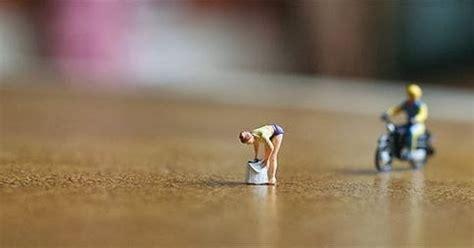 foto miniatur  lucu  kreatif