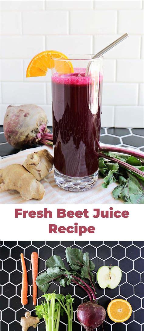 juice beet recipes beets abeautifulmess recipe diet
