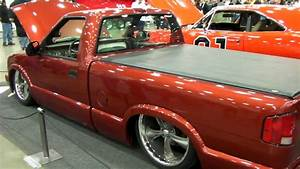 Bagged Chevy S10 With A V8