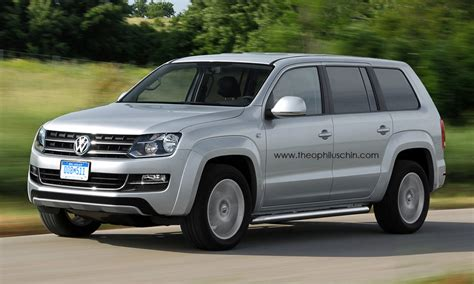 Seater Suv by Volkswagen To Debut 7 Seater Suv Concept At Detroit