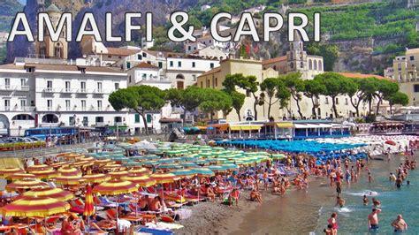 Amalfi And Capri Italy 🇮🇹 Hd Youtube