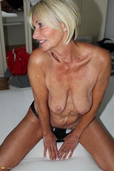 Beautiful Yo Blond Granny Franziska Has A Hairy Pussy