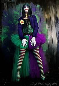 Hollywood Kostüme Ideen : the joker adult tutu skirt cosplay formal bustle trail bridal dance costume purple green ready ~ Frokenaadalensverden.com Haus und Dekorationen