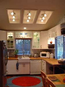 Remodel flourescent light box in kitchen
