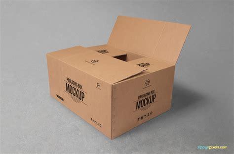 Download free mockups in psd. Mockup Caixa #5