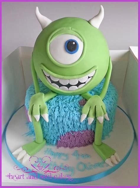 mike monsters  cake cake  cupcakes pinterest