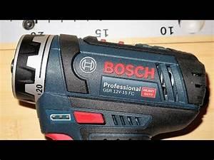 Bosch Gsr 12v 15 Fc : bosch gsr 12v 15 fc youtube ~ Melissatoandfro.com Idées de Décoration