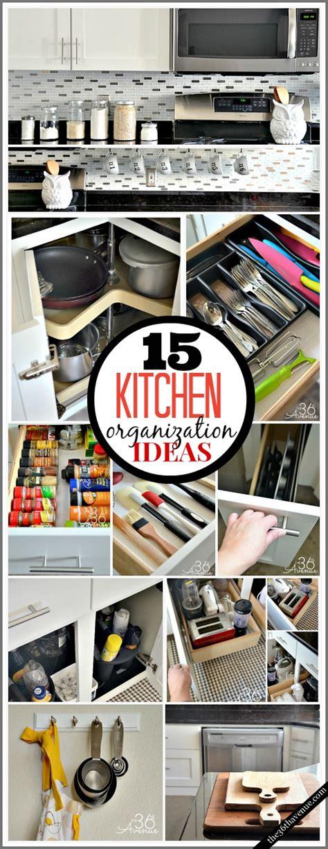 15 Kitchen Organization Ideas  The 36th Avenue