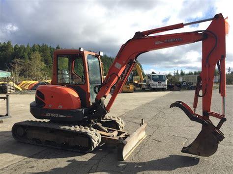 kubota kx  excavator vi equipment