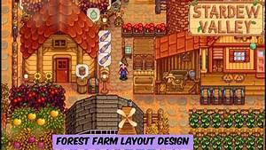 Stardew Valley - Forest Farm Layout Design
