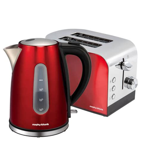 morphy richards toaster and kettle morphy richards amreoltp accents pyramid kettle and