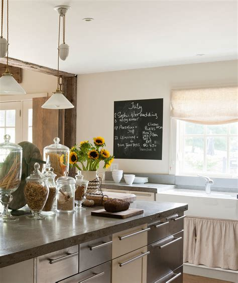 farmhouse kitchen decor ideas real simple
