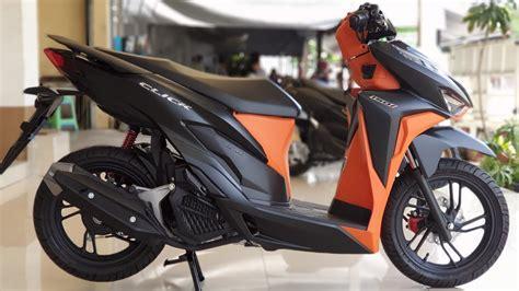 Honda Click 150i 2019 by New Honda Click 150i 2019 Black Orange