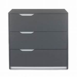 Commode Grise Ikea : commode gris clair gallery of gris clair brillant et commodes laque l commode tiroirs blanc ~ Melissatoandfro.com Idées de Décoration