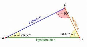 Fehlende Größen Im Dreieck Berechnen : rechtwinkliges dreieck ~ Themetempest.com Abrechnung