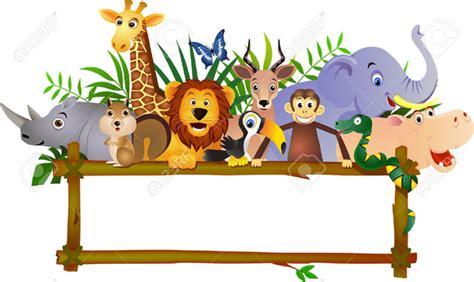 Zoo Animal Clipart Border