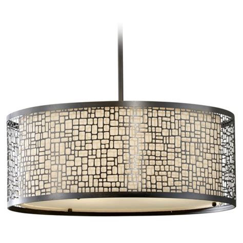 drum light pendant modern drum pendant light with beige glass in