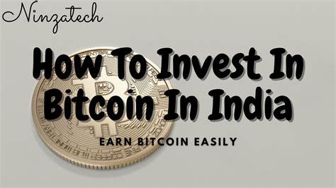 Come and earn now just by clicking a button! How To Invest In Bitcoin In India - Quick Review 2021 • NinzaTech