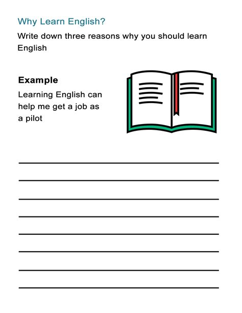 learn english worksheet   benefits  learning