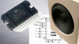 Tda7388 - 4 U00d750w Original Circuit Diagram