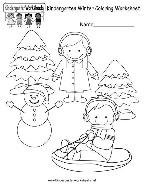 Net Coloring Worksheet Christmas Kindergarten Grig3org