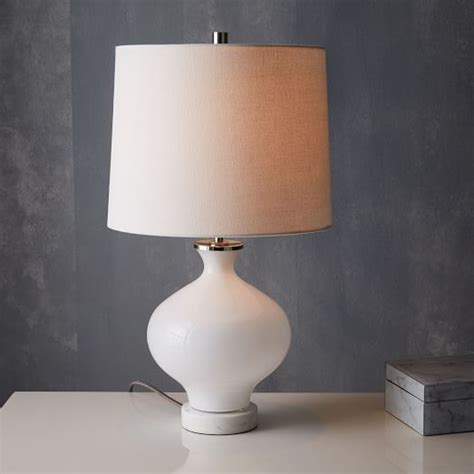 Coloured Table Lamps by West Elm Rejuvenation Colored Glass Table Lamp Small