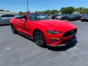 2019 Used Ford Mustang EcoBoost Convertible at Allen Auto Sales Serving Paducah, KY, IID 20086517