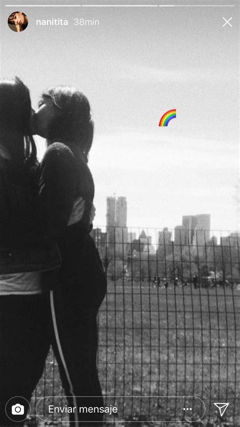 La actriz Anna Castillo publica una foto besando a una