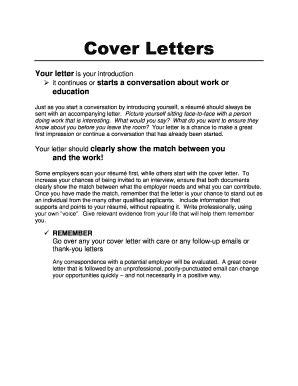 printable letter  explanation  address variations