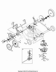 Troy Bilt 12ai869g211  2010  Parts Diagram For Drive