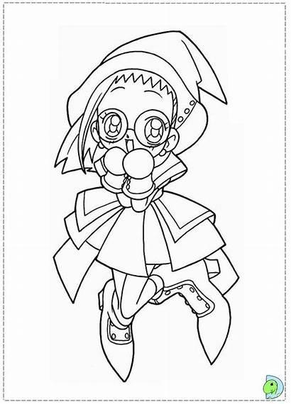 Doremi Magical Coloring Desenhos Colorir Malvorlagen Badman