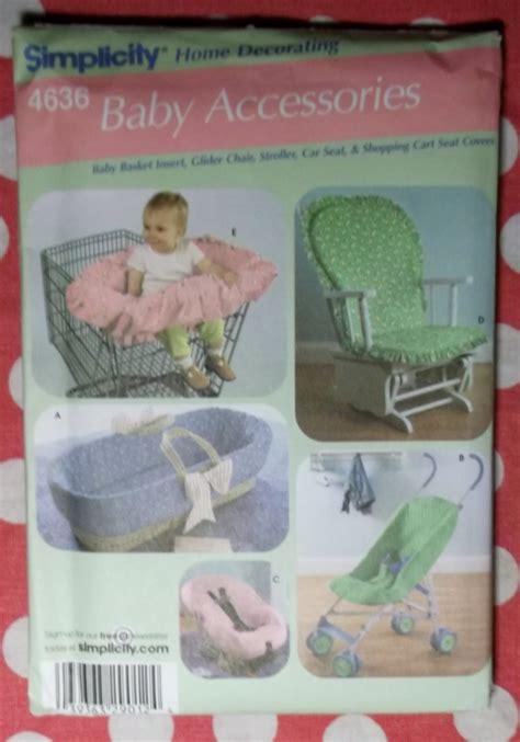 Oop Simplicity 4636 Pattern, Baby's Stroller Car Seat