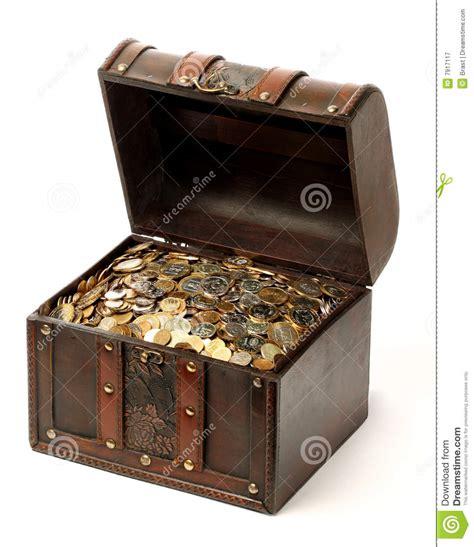money chest stock image image  evil  vice wood