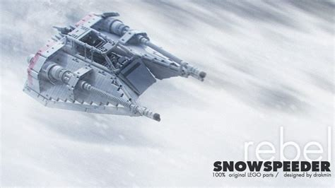 This LEGO Rebel Snowspeeder could use your support   Geek ...