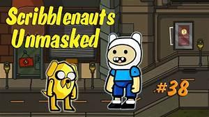 Scribblenauts Unmasked Wii U 38 Finn And Jake In The Hero Creator