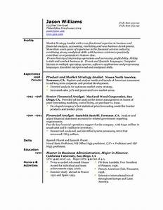 sample resume 85 free sample resumes by easyjob sample With best simple resume