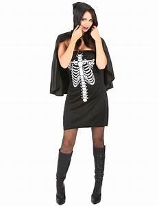 Vestito Halloween Donna Scheletro