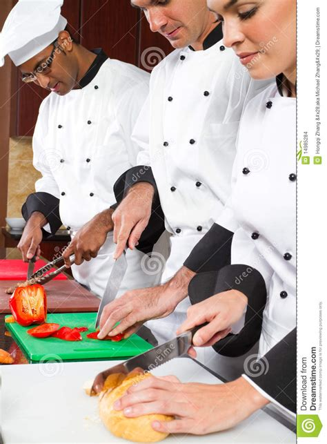 professional chefs cooking stock images image