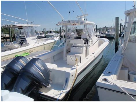 Contender 31 Fisharound Used Boats by Contender 31 Fisharound Center Console In New Jersey