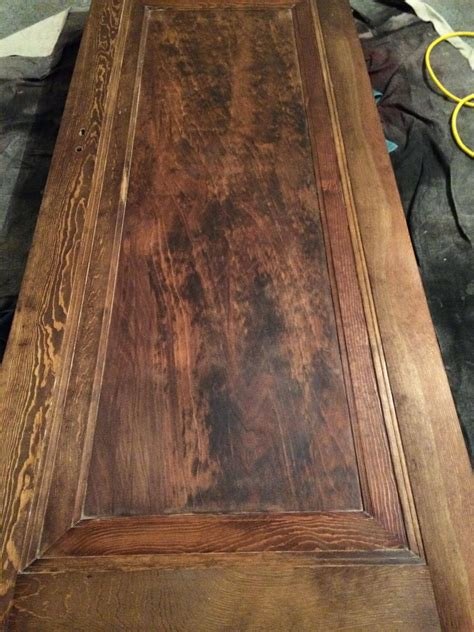 staining pine doors doors how can i avoid blotches when staining pine