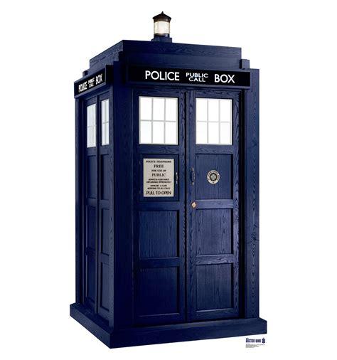 life size tardis doctor who cardboard standup