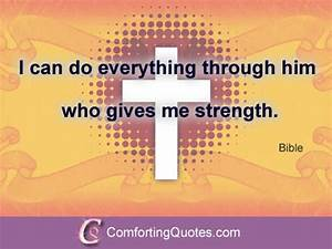 Quote About God Give me Strength | ComfortingQuotes.com