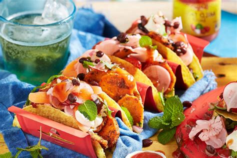 better homes and gardens mexican mexican madness sweet potato and black bean tacos better homes and gardens