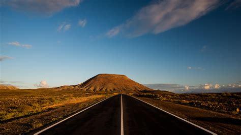 endless road   highland  ultrahd wallpaper