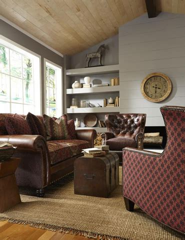 katherine leatherfabric sofa  lf king hickory